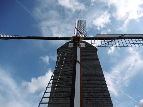 Le moulin à vent de Woluwé- Saint-Lambert