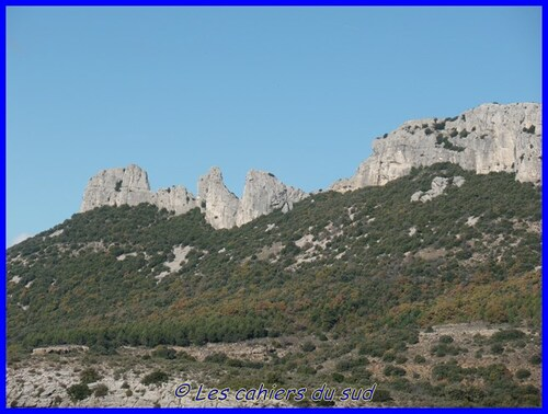 Ste Baume, les dents de Roque Forcade