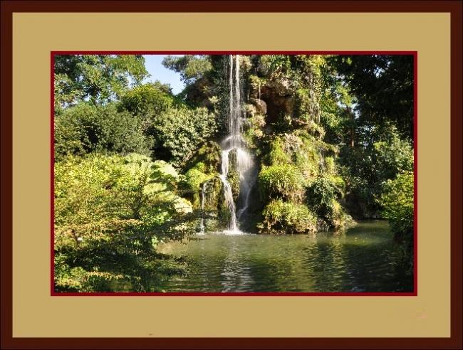 cadre cascade d'eau