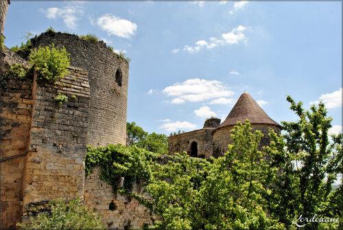 Photos de la haute cour - Château médiéval de Langoiran
