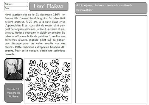 3 fiches en HDA et arts visuels : contributions de Mon dimanche ...