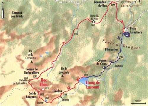 LES LACS  DE L'ARIEGE LE LAURENTI dans Lacs et étangs de l'Ariège _OzyJCYzSxJsX1cx6N32C2-Oo6k