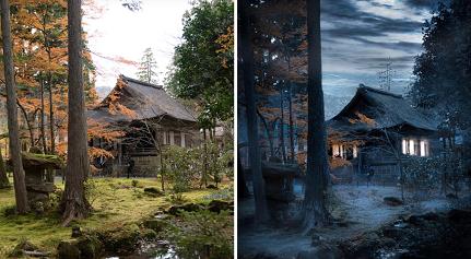 Japon artistiquement retouché ...