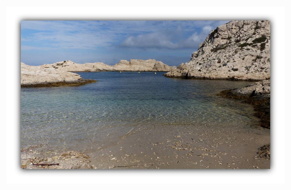 Il y a le Ciel,le Soleil et la Mer....L'Île du Frioul