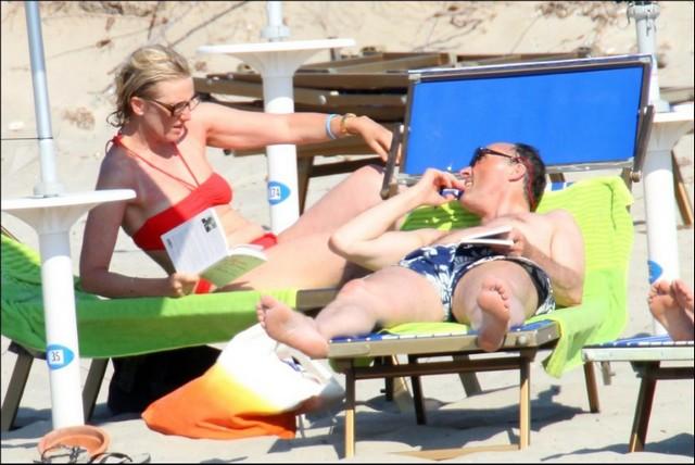 Astrid et Lorenz en vacanes