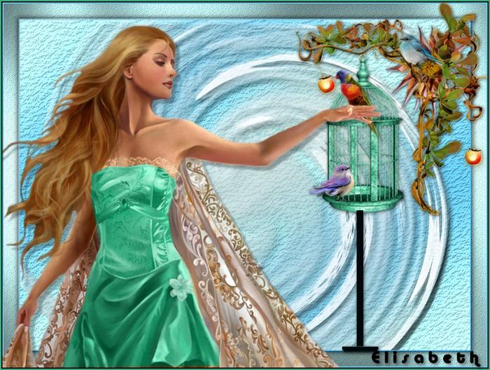 Tuto 2 - La femme oiseaux