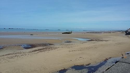 plage du débarquement - Arromanches