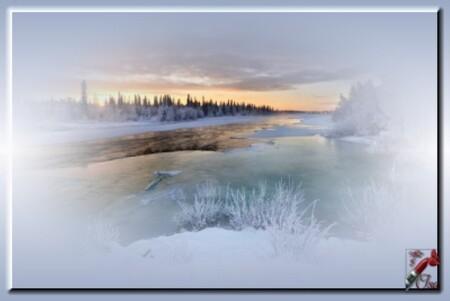 HI0018 - Tube paysage d'hiver