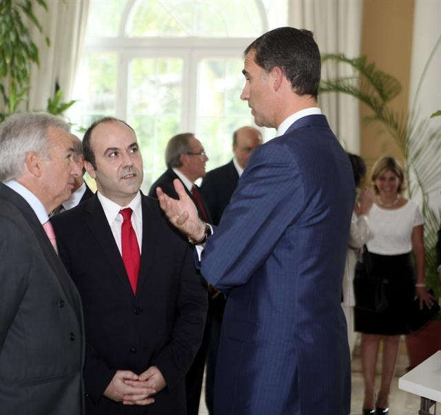Felipe à l'ambassade