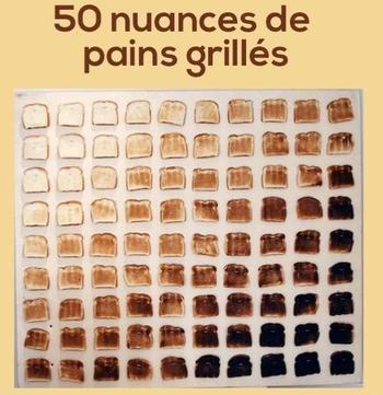 pains grillés
