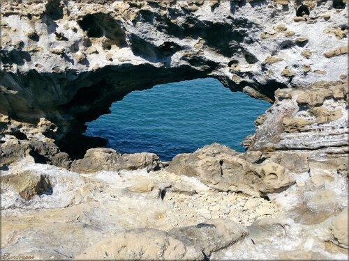 Biarritz autour du rocher de la Vierge (64)