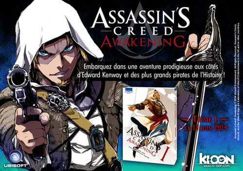 Assassin's Creed Awakening chez Ki-oon !