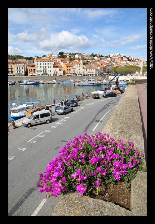 La côte Vermeille, de Collioures à Port Vendres...