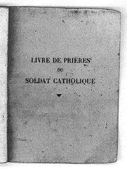 14-18/ Livre de prières du Père Lenoir