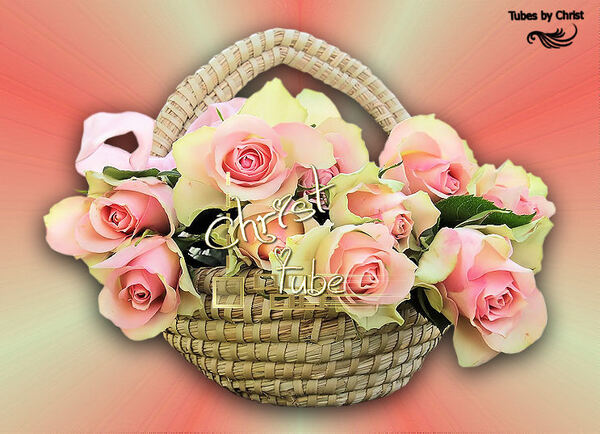 Panier de Roses.