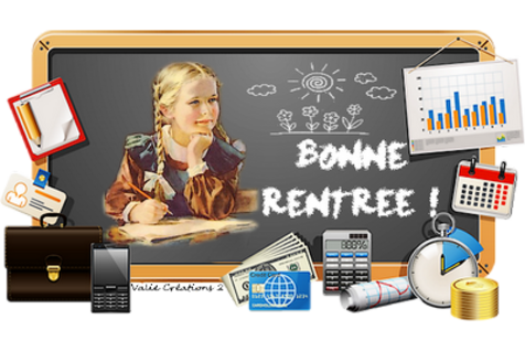 ECOLE, RENTREE DES CLASSES