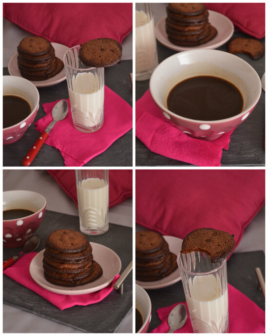 Chocolate Expresso Cookies {chocolate chip}