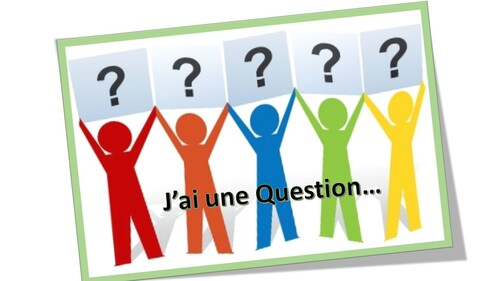 J'ai une Question...(1)