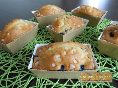 Cake aux myrtilles et zestes de citron