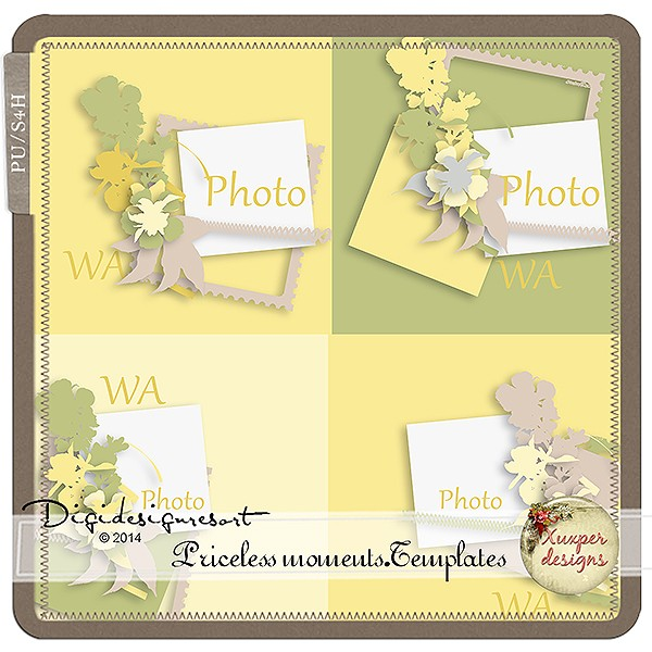 kit & templates Priceless Moments by Xuxper Designs