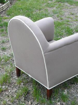 Fauteuil Club Taupe