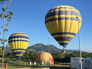 VIC -  envol de montgolfieres