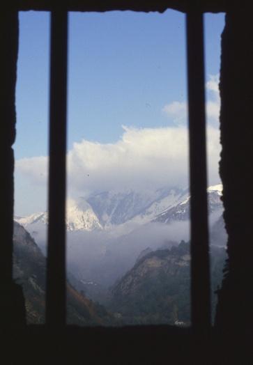 Fort du Portalet (novembre 1983)