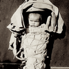 Navajo (Dine) infant. 1906. Photo by Simeon Schwemberger. - National Anthropological Archives.
