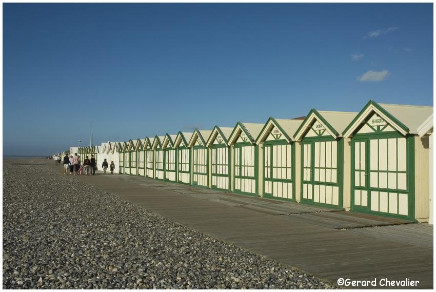 Cayeux-sur-mer - Les cabines #1