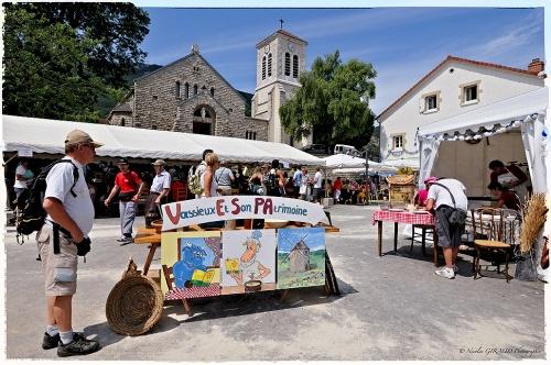 Fête du Bleu du Vercors à Vassieux en Vercors