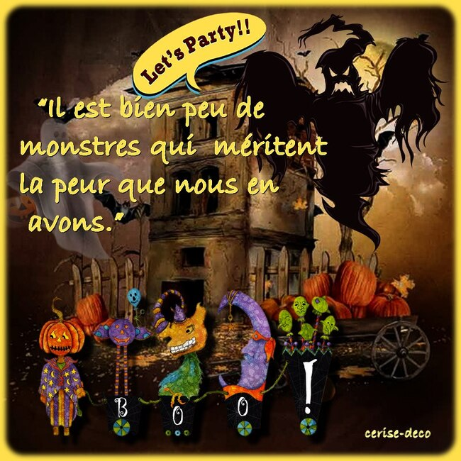 citation illustrée halloween