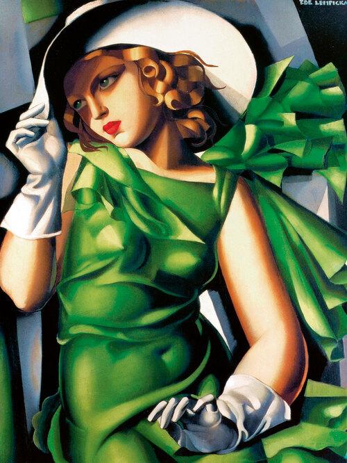 Samedi - Un Lempicka : La jeune fille en vert