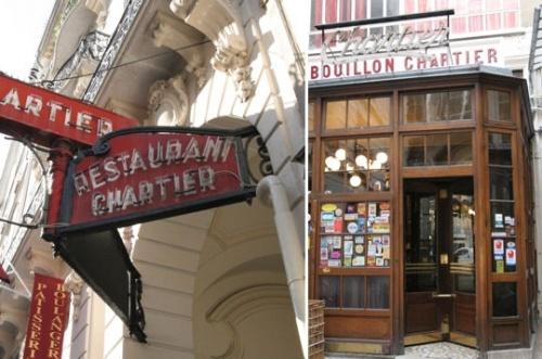 Chez Chartier, son Histoire...