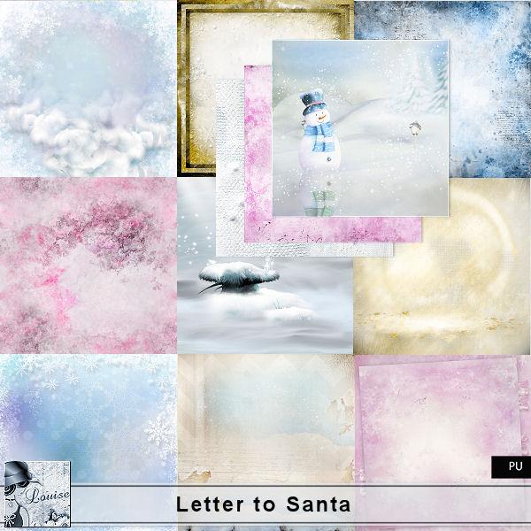 Letter to Santa Louis607