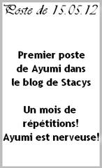 Stacy's blog PAGE