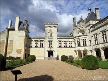 Photos des jardins du Château de Bréze