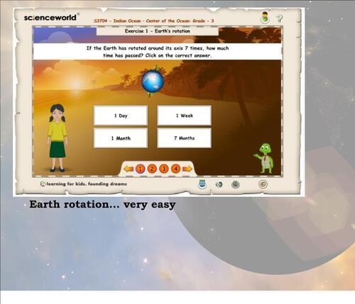CM2SC - The Earth Movements: r o t a t i o n