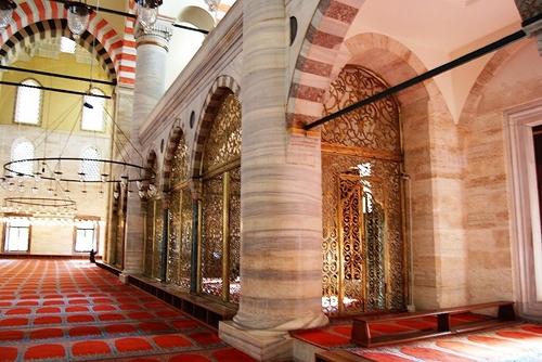 Sulemaniye Camii - L'intérieur