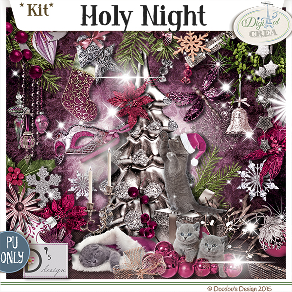 HOLY NIGHT by DOUDOU'S DESIGN