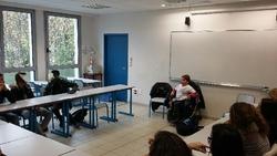 Témoignage le 24/11/15 au collège de St Augustin Angers