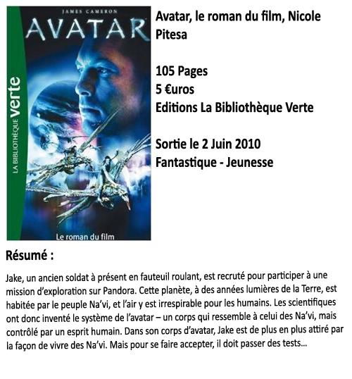 Avatar : Le roman du film, Nicole Pitesa