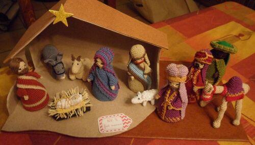 Les décos de Noël de Bibouill;Carole.D; Eugénie;Gravhelio