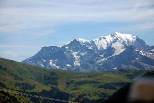 L'envers du Mont blanc