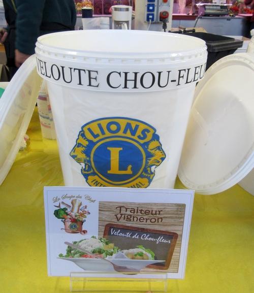 """La """"soupe des chefs"""" du Lions Club a régalé les Châtillonnais"""