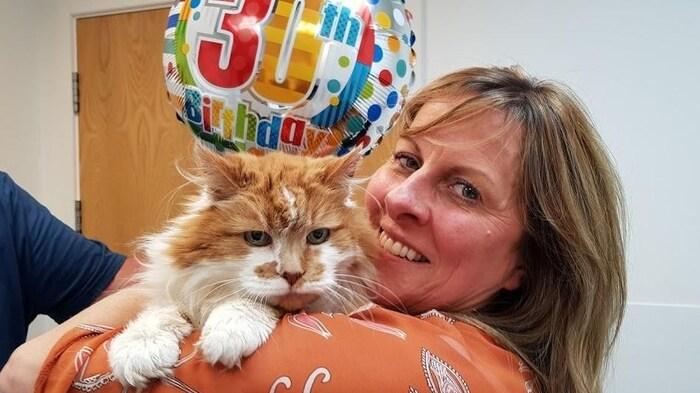 30e anniversaire d'un chat (histoire vraie)