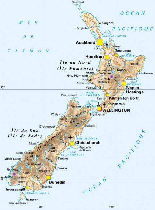 Présentation Nouvelle-Zélande