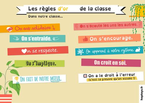 Elaboration règles de classe et TEC