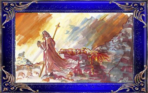 Odin endort Brynhild