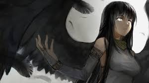 """Résultat de recherche d'images pour """"ange aux ailes noires manga fille"""""""
