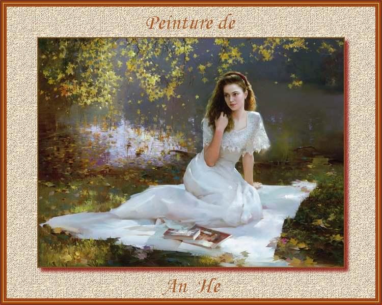 Peinture de : An He